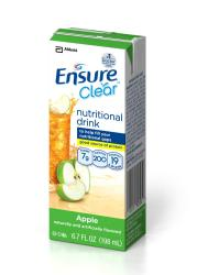 Dietary ENSURE CLEAR, 6.7OZ ,APPLE